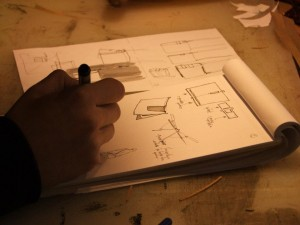 1ère étape : le croquis de votre projet