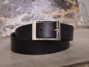 ceinture cuir france made in croix rousse
