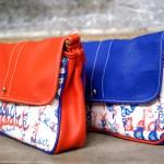 made in france croix rousse lyon ls artisan maroquinier sérigraphie noël cuir couleur
