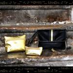 sac soirée ls artisan maroquinier made in france lyon croix rousse cuir couleur doré