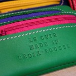 choupi porte monnaie ls made in france croix rousse cuir couleur