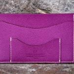 Porte papier carte made in france lyon cuir couleur croix rousse