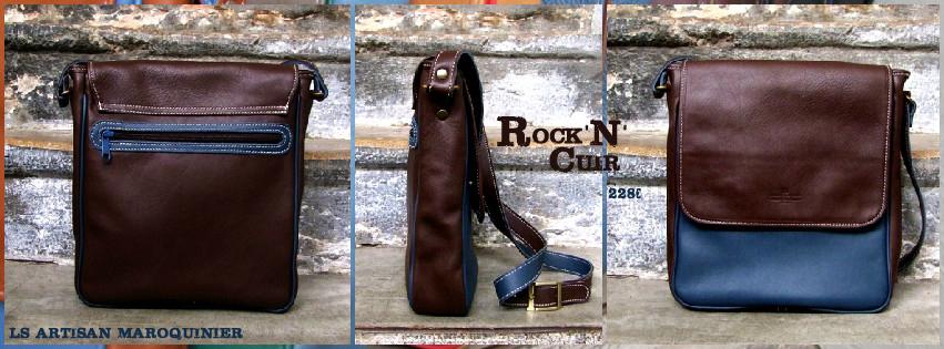Besace Rock'n'Cuir